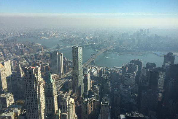 Skydeck v New Yorku - One World Center