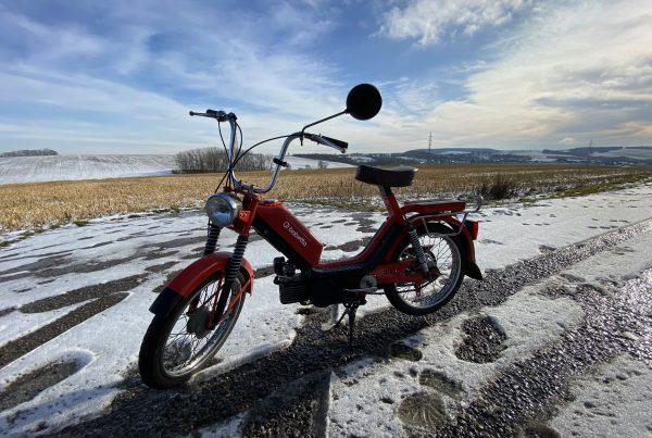 Zimní vyjížďka Babetta 210